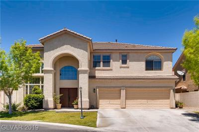 Las Vegas Single Family Home For Sale: 7426 Page Ranch Court