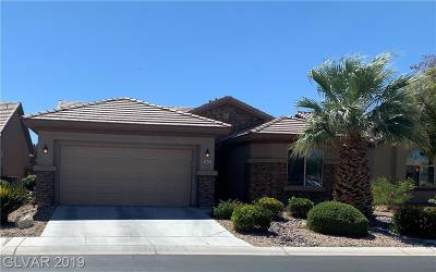 Las Vegas Single Family Home For Sale: 3463 Halter Drive