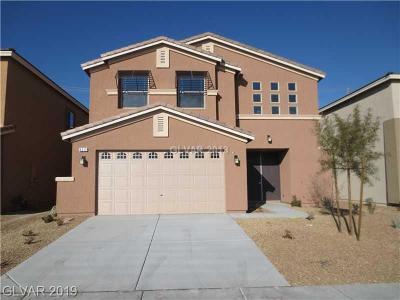 Las Vegas Single Family Home For Sale: 8212 Minots Ledge Avenue