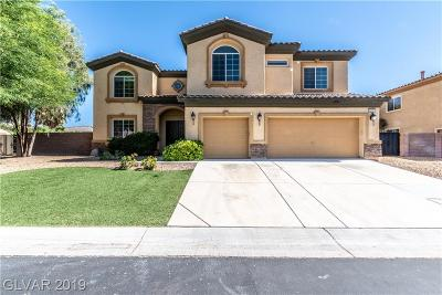 Las Vegas Single Family Home For Sale: 6235 Mell Cave Court