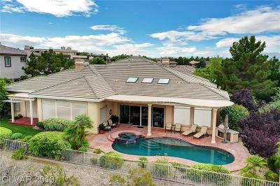 Henderson Single Family Home For Sale: 8 Anthem Pointe Court