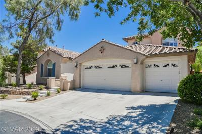 Las Vegas Single Family Home For Sale: 11101 Pine Greens Court