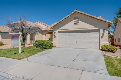 Las Vegas Single Family Home For Sale: 3628 Chateau Meadow Street