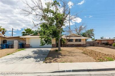 Sunrise Manor Single Family Home For Sale: 5435 Consul Avenue
