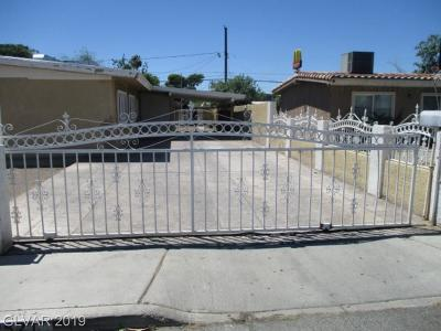 NORTH LAS VEGAS Single Family Home For Sale: 2521 Webb Avenue