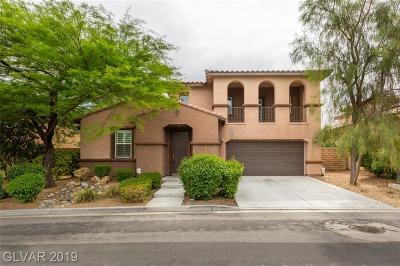 Las Vegas Single Family Home For Auction: 857 Las Palomas Drive
