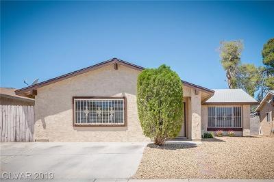 Las Vegas Single Family Home For Sale: 716 Watkins Drive