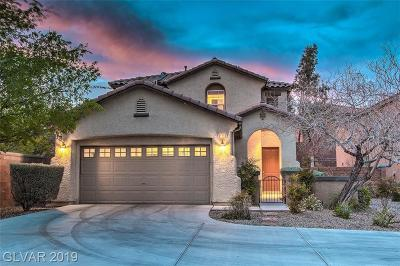 Clark County Single Family Home For Sale: 11752 Marina Grande Court