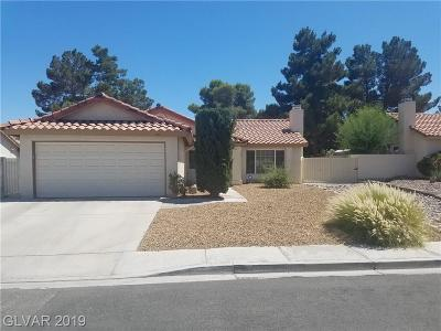 Las Vegas Single Family Home For Sale: 751 Irwindale Avenue
