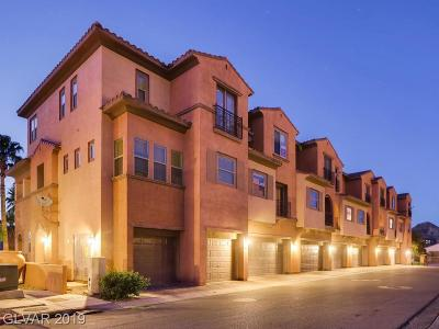 Las Vegas Condo/Townhouse For Sale: 1081 Via Prato Lane