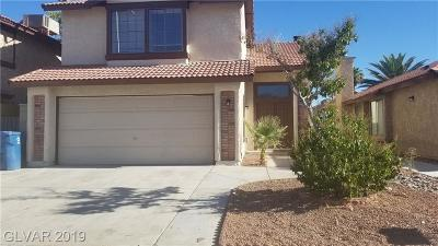 Las Vegas Single Family Home For Sale: 6529 Hartwood Road