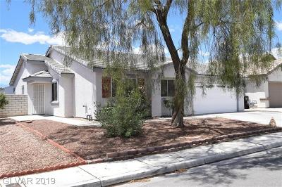 North Las Vegas Single Family Home For Sale: 5511 Echo Hawk Street