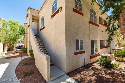 Las Vegas Condo/Townhouse For Sale: 517 Indian Bluff Street #203