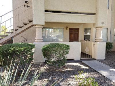 Las Vegas Condo/Townhouse For Sale: 7960 Calico Vista Boulevard #102