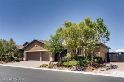 Las Vegas Single Family Home For Sale: 3954 Sangre De Cristo Avenue