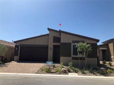 North Las Vegas Single Family Home For Sale: 4211 Diya Avenue #Lot #189