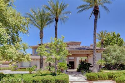 Las Vegas NV Single Family Home For Sale: $1,795,000