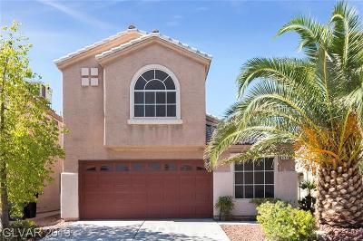 Las Vegas Single Family Home For Sale: 6051 Spring Harvest Drive