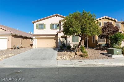 North Las Vegas Single Family Home For Sale: 3740 Prairie Orchid Avenue