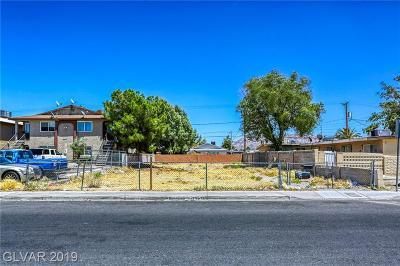 North Las Vegas Residential Lots & Land For Sale: 2418 Ellis Street