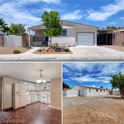 Las Vegas Manufactured Home For Sale: 6632 Plumflower Lane