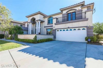 Las Vegas Single Family Home For Sale: 10121 Arkell Court