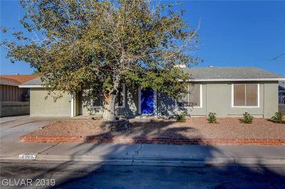 LAS VEGAS Single Family Home For Sale: 4902 San Sebastian Avenue