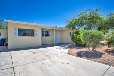 Las Vegas Single Family Home For Sale: 4105 Las Lomas Avenue