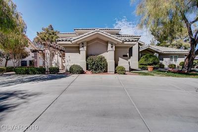 Las Vegas Single Family Home For Sale: 9900 Robin Oaks Drive