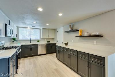 LAS VEGAS Single Family Home For Sale: 4487 McMillan Road