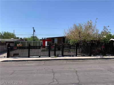Las Vegas Single Family Home For Sale: 1509 Ryan Avenue