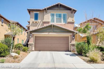 LAS VEGAS Single Family Home For Sale: 10018 Pelham Park Avenue