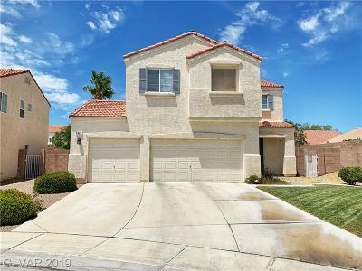 North Las Vegas Single Family Home For Sale: 5921 Rose Creek Court
