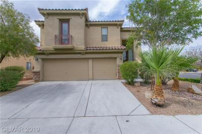 North Las Vegas Single Family Home For Sale: 2404 Marvelous Manor Avenue