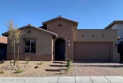 Las Vegas, Henderson Single Family Home For Sale: 11857 Albissola Avenue