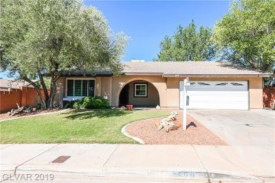 Boulder City Single Family Home For Sale: 1400 Nadine Way