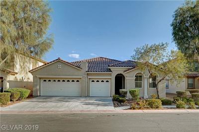 North Las Vegas Single Family Home For Sale: 21 Raptors View Avenue