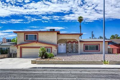 Las Vegas Single Family Home For Sale: 3009 Mason Avenue