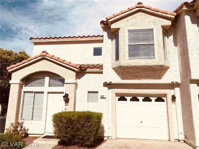 Henderson, Las Vegas Condo/Townhouse For Sale: 6833 Coral Rock Drive
