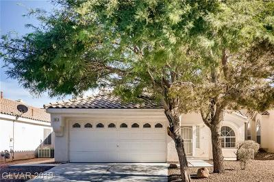 North Las Vegas Single Family Home For Sale: 1861 Oak Bluffs Avenue