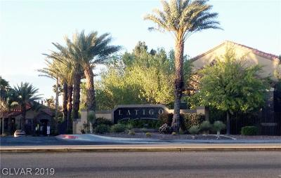 Henderson, Las Vegas Condo/Townhouse For Sale: 2300 Silverado Ranch Boulevard #2101