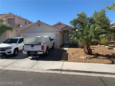 North Las Vegas Single Family Home For Sale: 214 Winley Chase Avenue