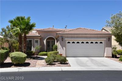 Las Vegas Single Family Home For Sale: 4367 Bella Cascada Street