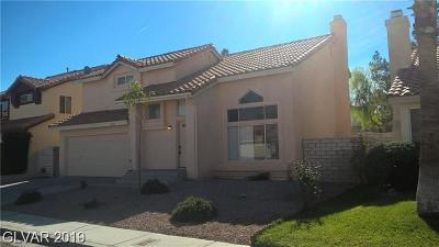 North Las Vegas Single Family Home For Sale: 1637 Bent Arrow Drive
