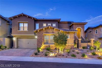 Las Vegas Single Family Home For Sale: 378 Capistrano Vistas Street