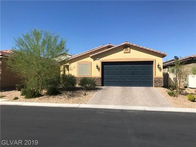 North Las Vegas Single Family Home For Sale: 5712 Little Cape Court