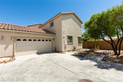 Centennial Hills Single Family Home For Sale: 4116 Swept Plains Street