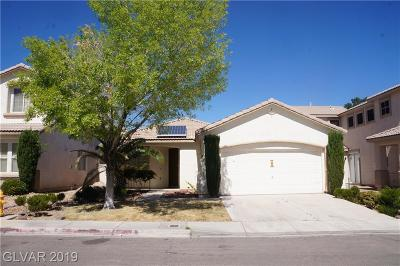 Las Vegas Single Family Home For Sale: 9841 Del Mar Heights Street