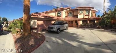 Las Vegas Single Family Home For Sale: 2055 South Buffalo Drive