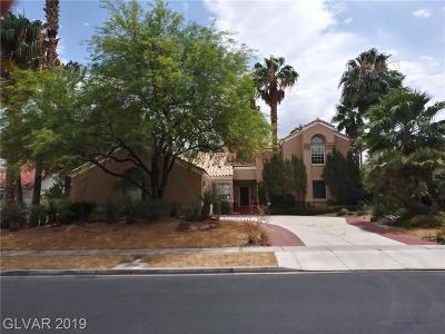 Blue Diamond, Boulder City, Henderson, Las Vegas, North Las Vegas, Pahrump Single Family Home For Sale: 2268 Buckingham Court
